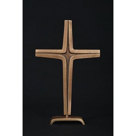 Standkreuz Bronze