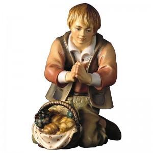 Hirt mit Brot der Hirtenkrippe